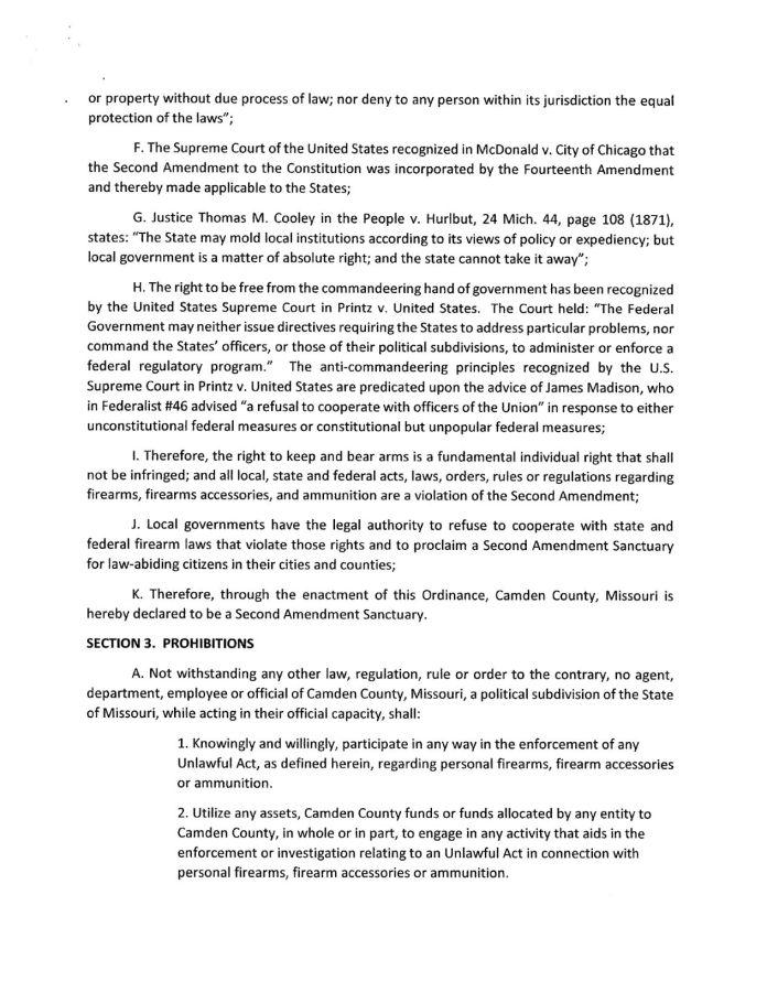 Camden County Second Amendment Sanctuary Ordinance pg-2