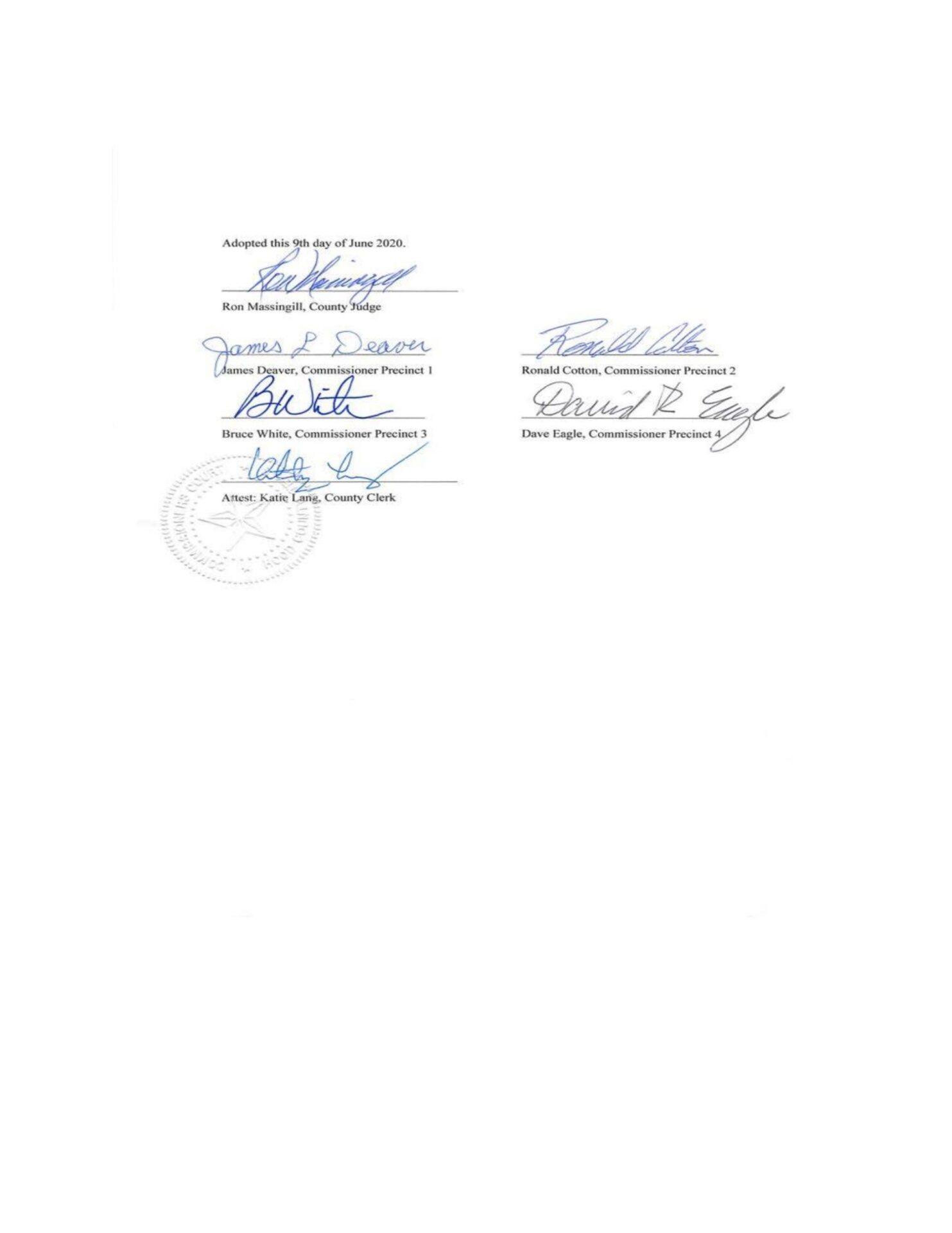 Hood County Texas Business Sanctuary Resolution pg-3