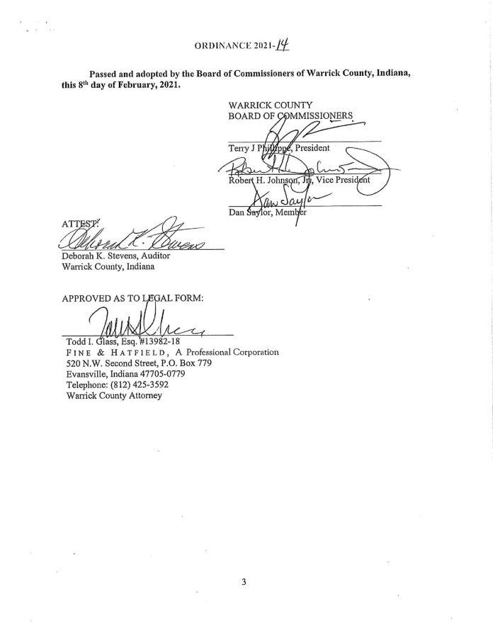 Warrick County Second Amendment Sanctuary Ordinance pg3