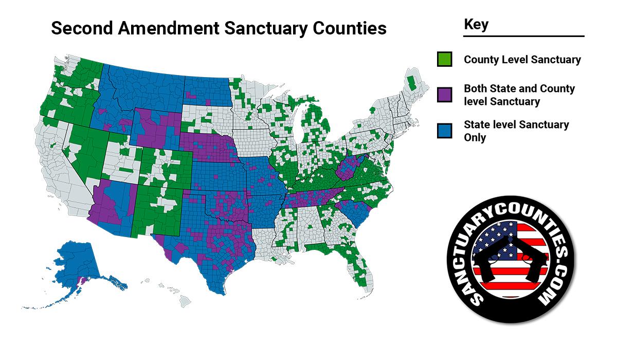 Second Amendment Sanctuary Counties