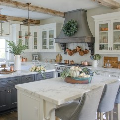 Fall Kitchen Decor Oversized Sinks Neutral Decorating My Home Tour Sanctuary I Use Many Of The Same Pieces From One Season To Next And Simply Add Different Greenery Or Flowers Reflect A Change