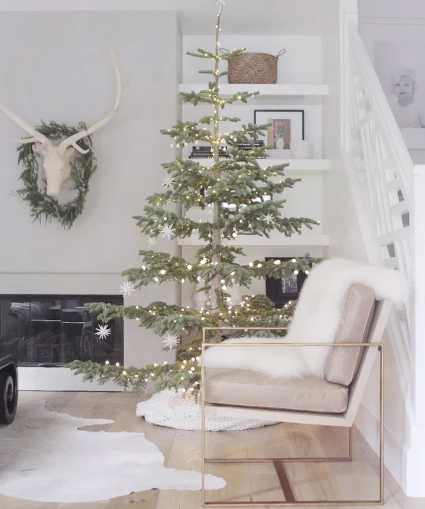 Simple Decorated Christmas Trees