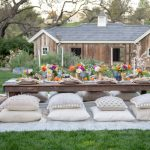 How To Plan A Bohemian Backyard Dinner Party Sanctuary Home Decor