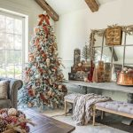 Christmas Decorating Ideas In Copper Burgundy Sanctuary Home Decor
