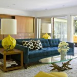 The Color Yellow In Design Mid Century Modern Glamour