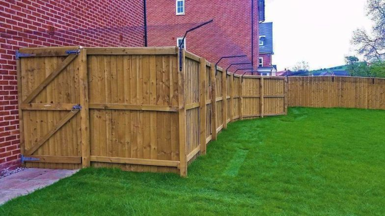 Cat proof fence barriers to keep cat safe in garden