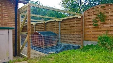 Large Outdoor Cat Run to Keep Pets Safe in Garden UK