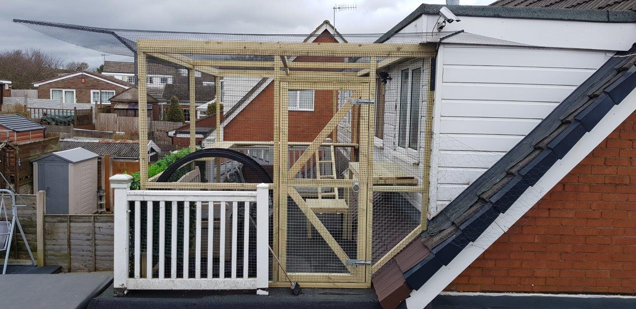 Catio - Outdoor Cat Enclosure