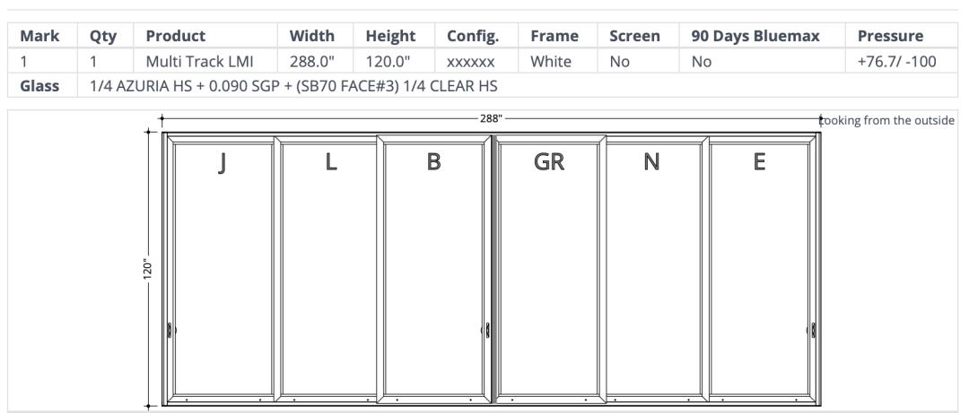 Mr. Glass Doors and Windows Multi-Track slider