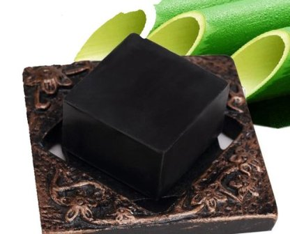 Soap-Bamboo&Charcoal-Hand made-100gms-Skin Whitening