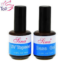 Base/Top Coat-primer-Gel Nails-Acrylic Nail Art-UV Gel System-Nail Art Tool-Pedicure-Manicure