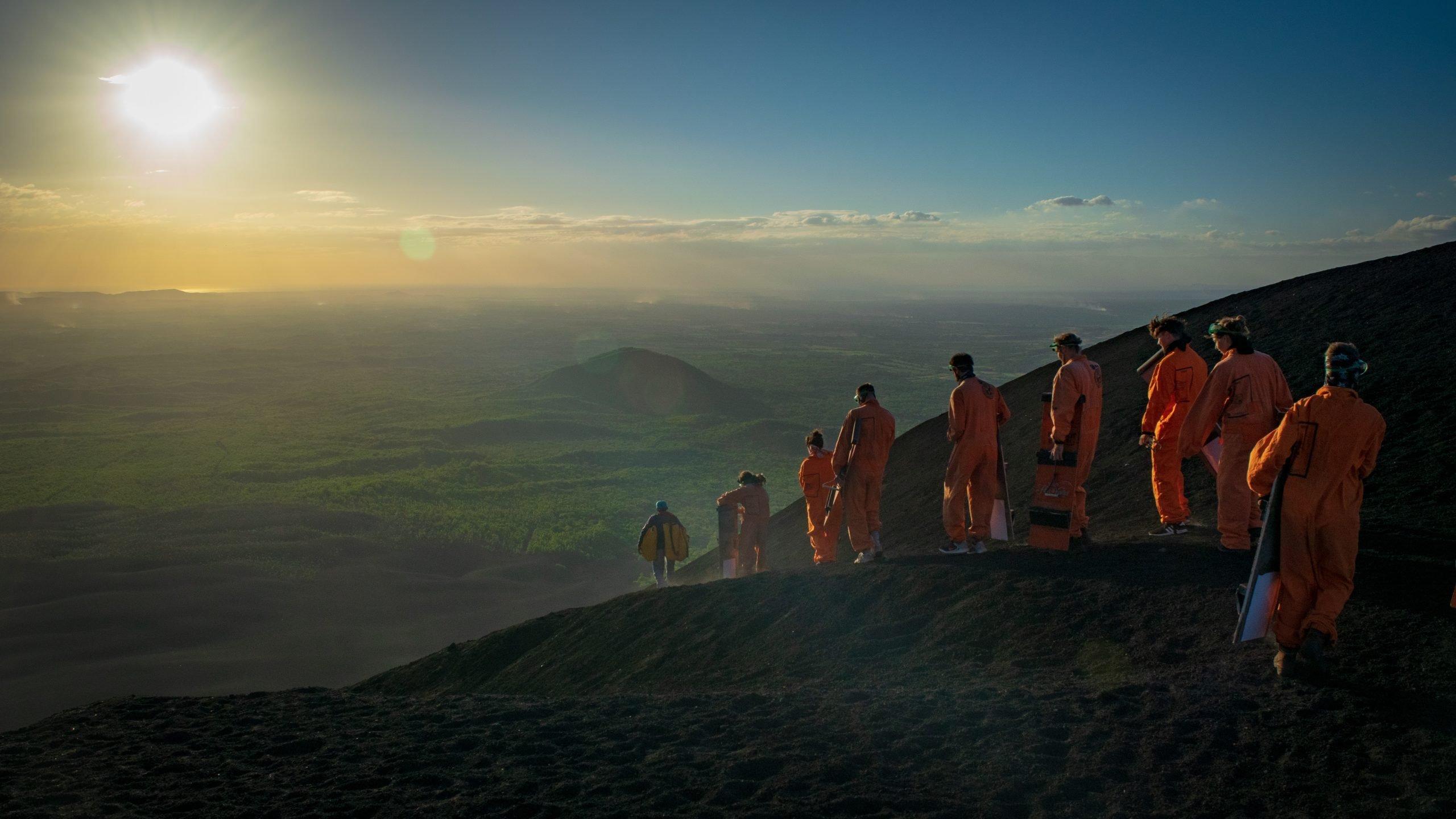 Volcano Boarding in Nicaragua – Cerro Negro Sandboarding