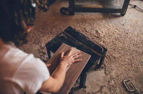 Making your own sandboard