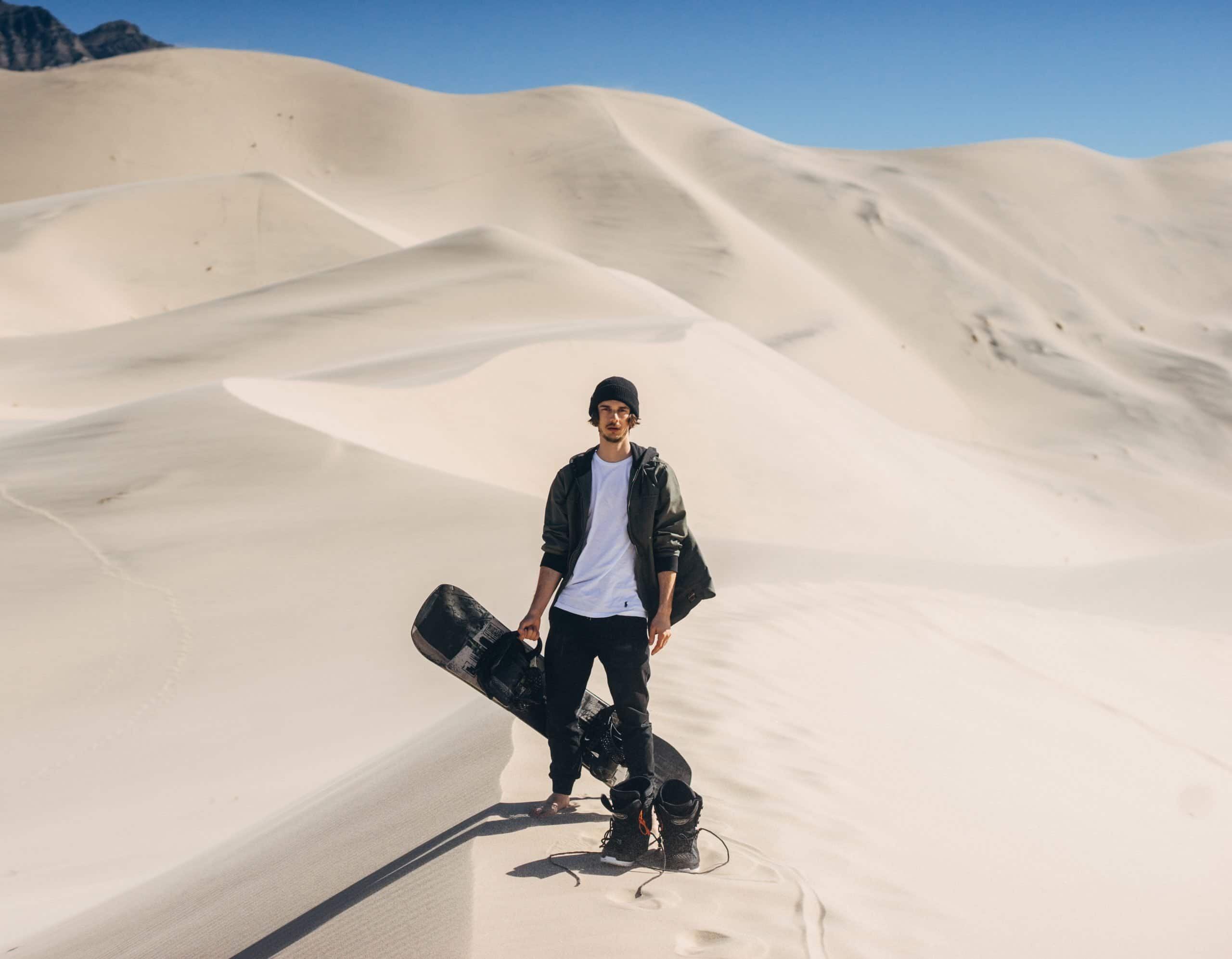 What to wear when sandboarding – clothing and equipment