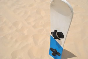 Best wax for sandboarding and sand dune sledding
