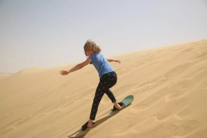 How to sand board: sandboarding tips for beginners