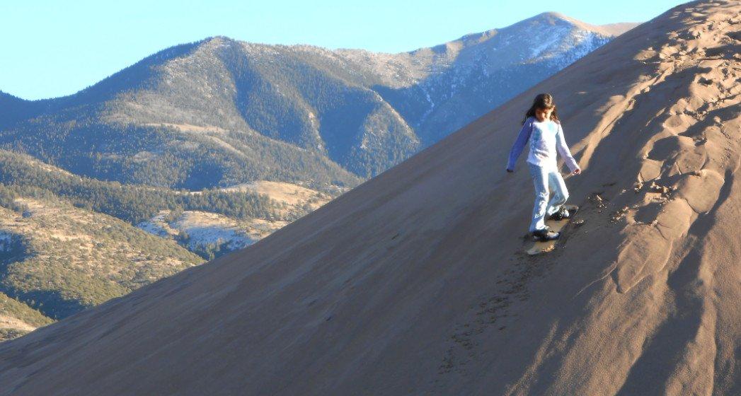 Sandboarding in Colorado