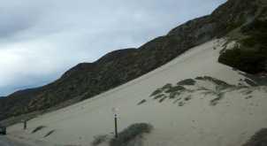 Sandboarding Point Mugu Malibu
