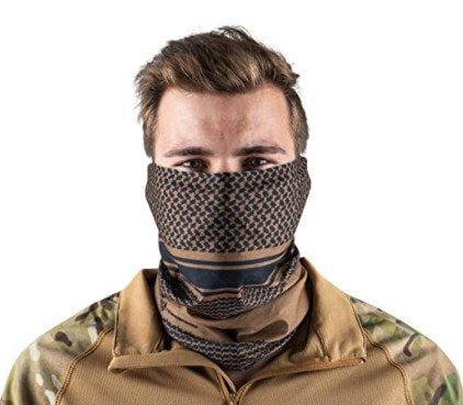 Neck gaiter / head scarf for desert