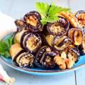 Баклажаны с грибами в горшочке рецепт