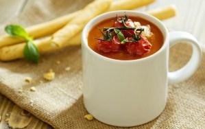 Как приготовить холодный суп гаспачо
