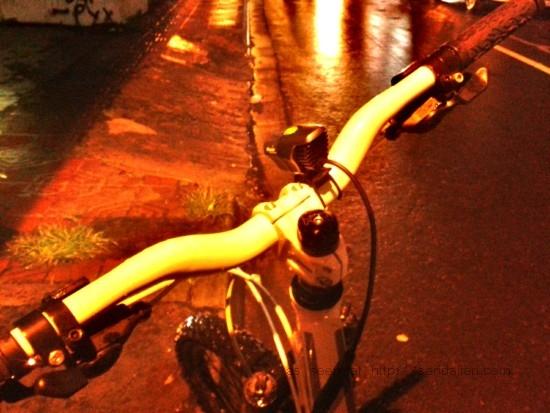 Fenix BT20 on the street side