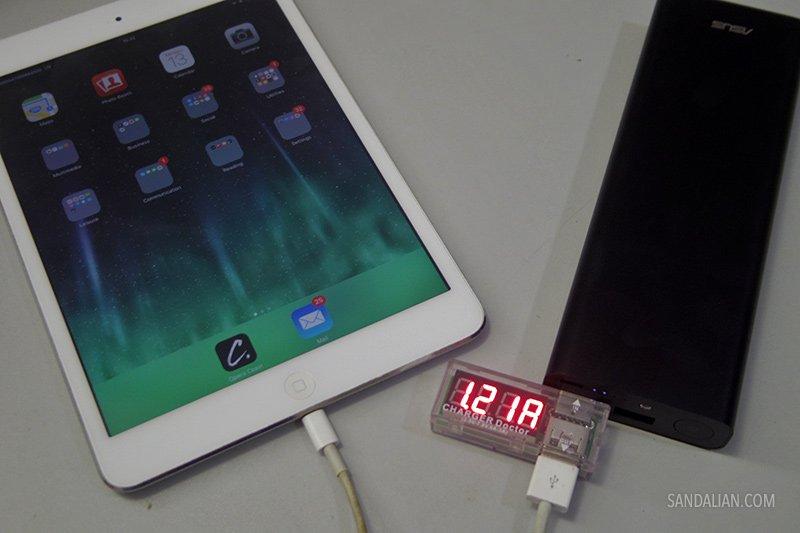 Charging iPad Mini with Asus ZenPower Ultra