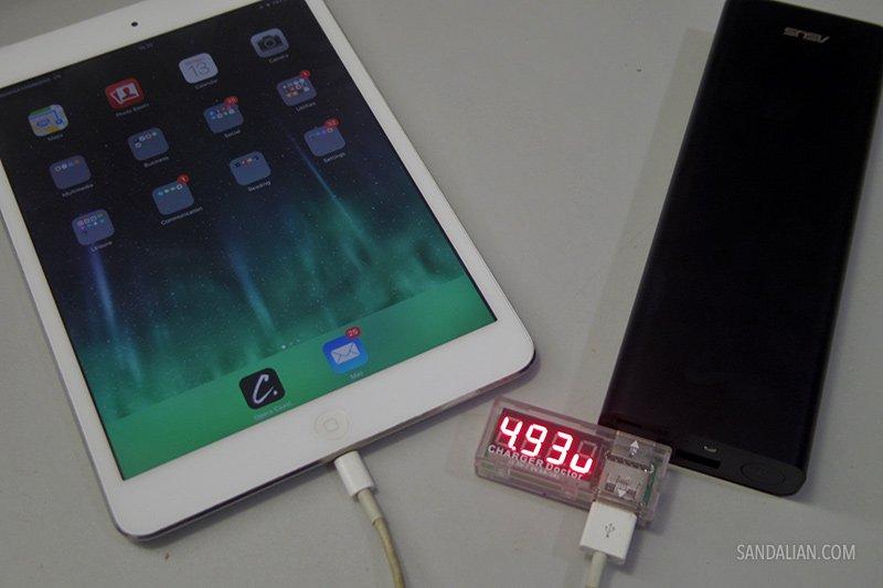 Charging iPad Min with Asus ZenPower Ultra