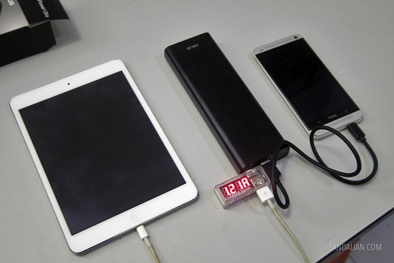 Charging gadget with Asus ZenPower Ultra
