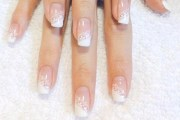 diy gorgeous lace wedding nails
