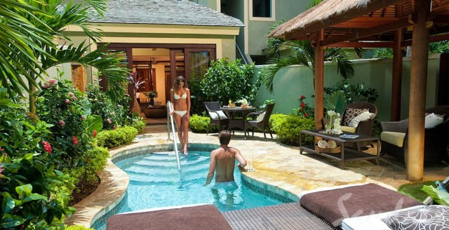 Sandals Resorts All Inclusive Luxury Honeymoon Villa à Negril en Jamaïque avec piscine privée
