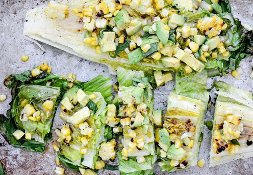 grilled-romaine-salad-with-corn-and-avocado-2