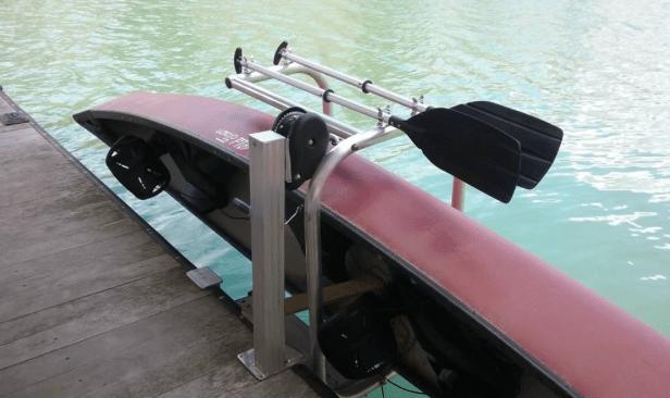 canoe-cradle