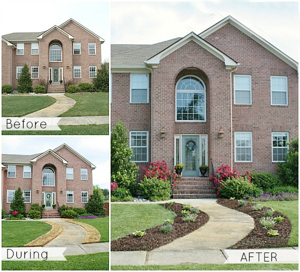 Adding Curb Appeal  New Flower Beds  Sand And Sisal