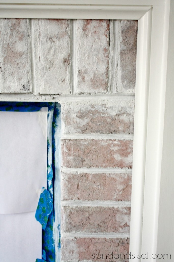 Whitewash Fireplace Photos How To Whitewash Brick - Sand And Sisal