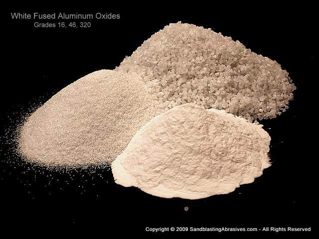 Aluminum Oxide Blasting Media Uses