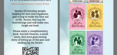 Add-On Example: Bookmark for Kristi Rose (Front & Back, 2.5×8.5″)