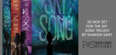 Add-On Example: 3D Box Set for The Sky Song Trilogy