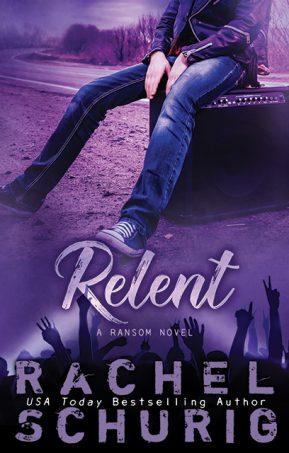 Book Cover for Relent by Rachel Schurig
