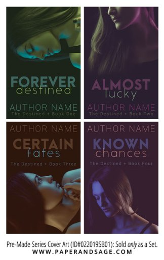 PreMade Series Covers ID#022019SB01 (The Destined Series, Only Sold as a Set)