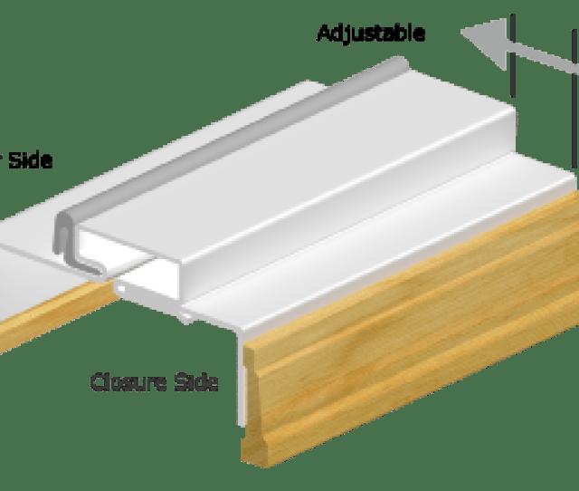 D Drawing For Adjustable Kerfed Steel Door Frames