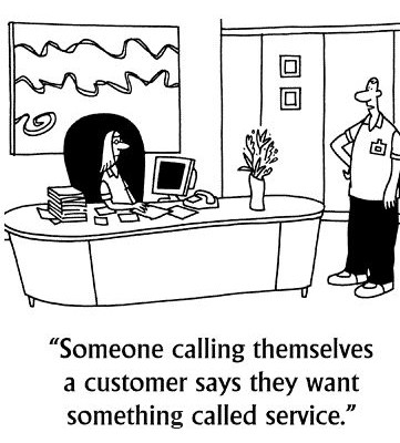 Customer Service Comic