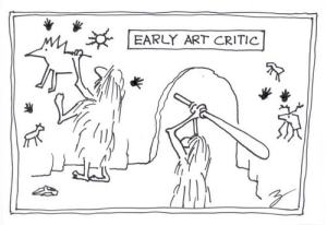 Art Critic Comic