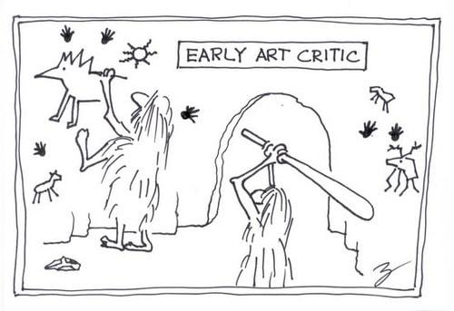 Art Critic Comic