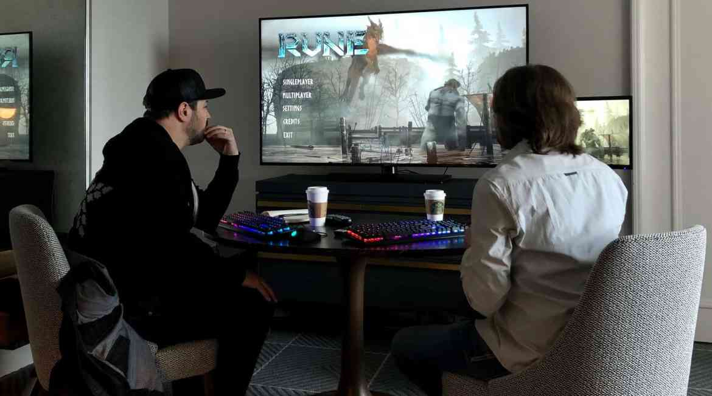 Game Informer's Matt Bertz teams up with Human Head co-founder Chris Rhinehart