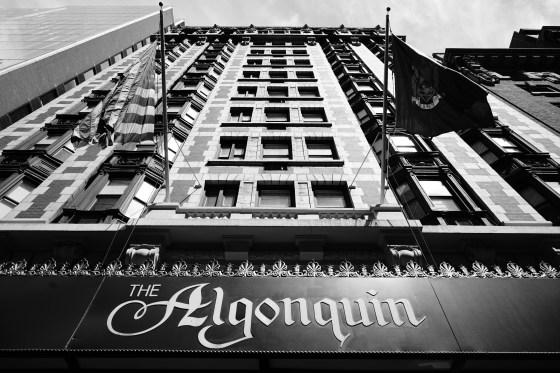ALGONQUIN HOTEL FOR MAYDAY WEDNESDAY APRIL 15, 2015 Michael Rubenstein michael@mrubenstein.com