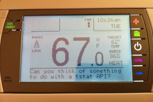 Using a wifi thermostat API | Eric's Blog