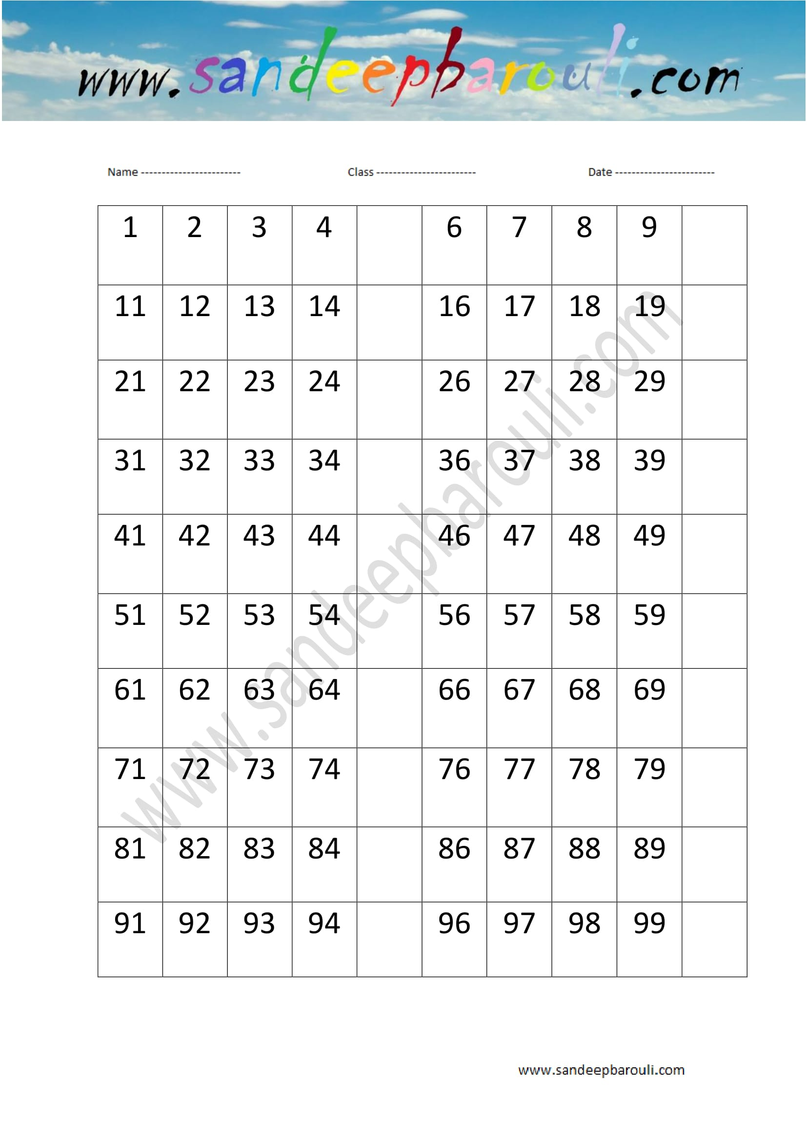 Math Worksheets For Kids 53 Sandeepbarouli