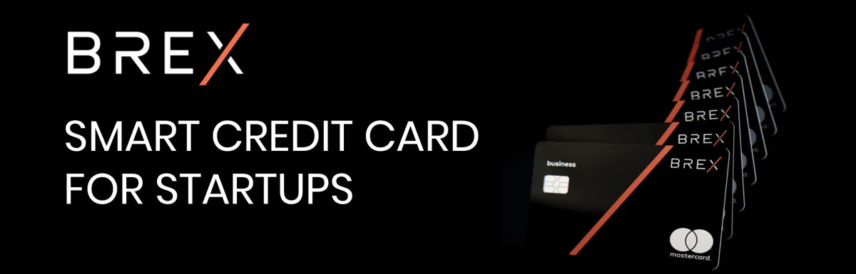 BREX – A Corporate Credit Card for Startups