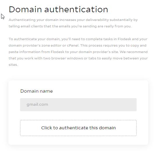 flodesk domain authentication